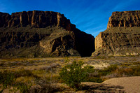 Santa Elena Canyon of the Rio Grande River